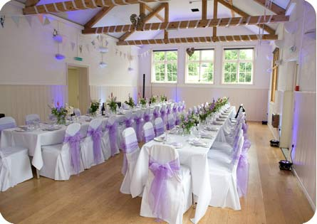 East Dean Hall wedding